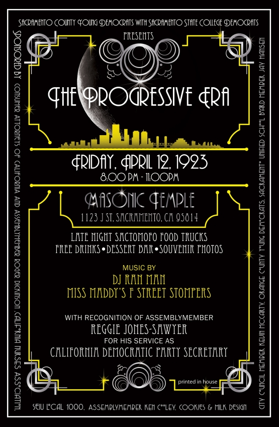The Progressive Era - Hosted Welcome Party
