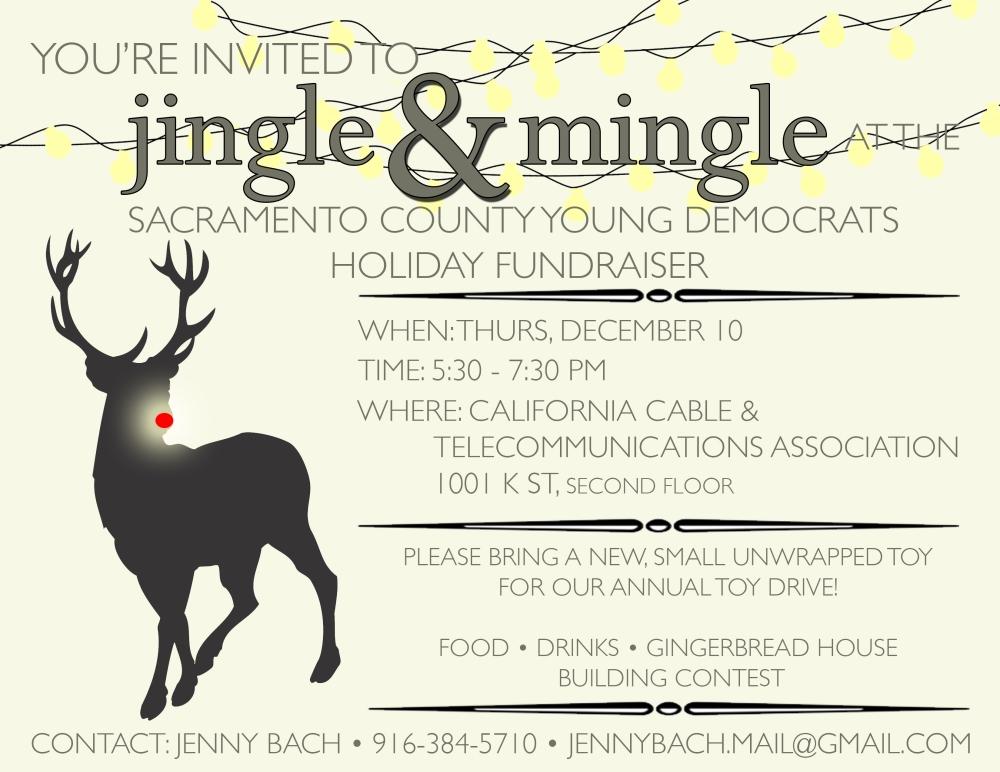 scyd december fundraiser flyer